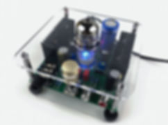 Lid ECC82-HP 12AU7 Tube Headphone Amplifier DIY kits