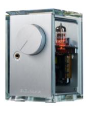 RF-lid - A1 Tube Headphone Amplifier in Glass