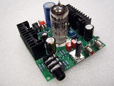 Bare ECC82-HP 12AU7 Tube Headphone Amplifier DIY kits