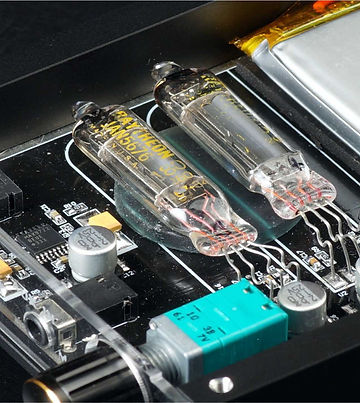 Tube-Web- DHT5676-HP Portable 5676 DHT Tube Headphone Amplifier
