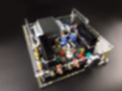 FL2 ECC82-60W Tube Hybrid Amplifier DIY kits