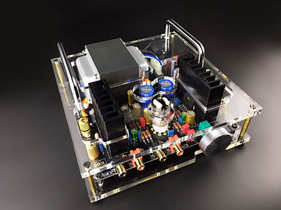 FL2 ECC82-60W Tube Hybrid Amplifier DIY kits