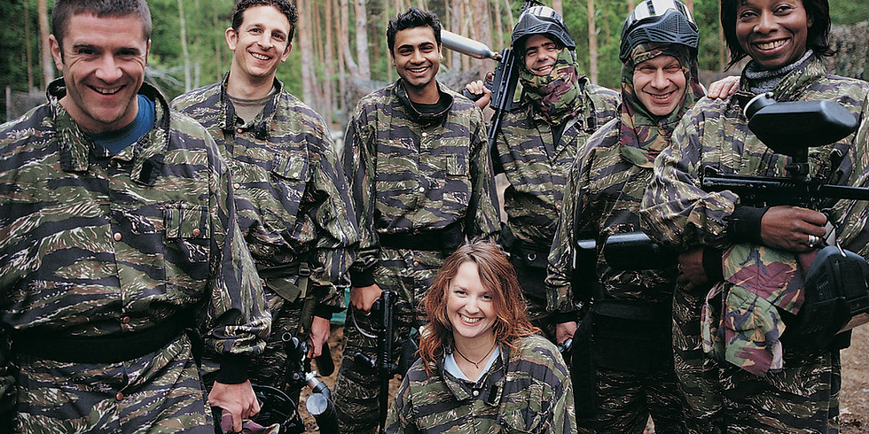 Paint Balling with Friends