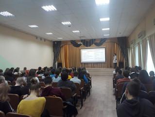 Зустріч школярів з лікарями з питання профілактики захворювань