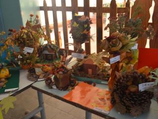 """Виставка робіт """"Золота осінь- 2017""""В нашій школі відбулась виставка робіт учнів 1- 11 клас"""