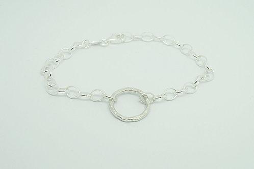 Textured Hoop Bracelet