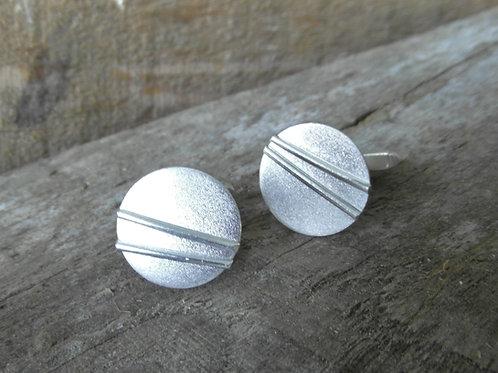 Silver Line Cufflinks