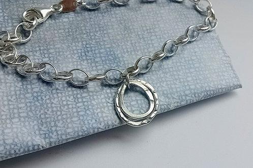 Oval & Pear charm Bracelet