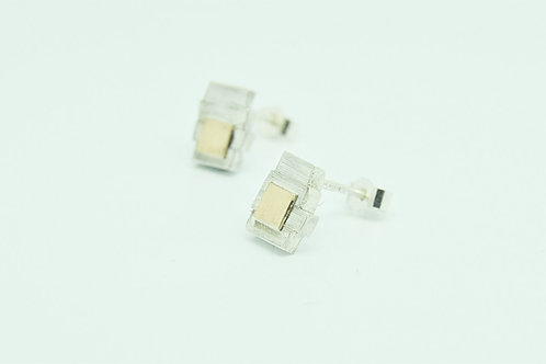 Small Slatted Studs