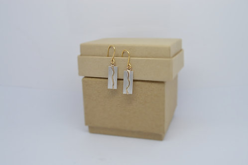 Land Panel Earrings