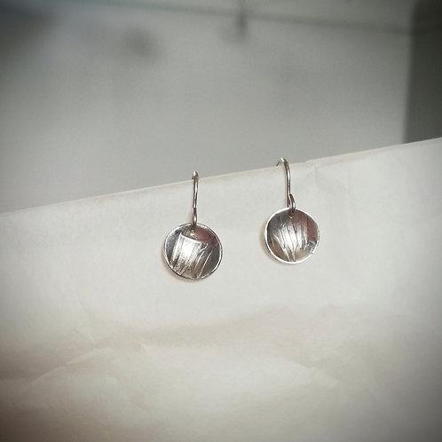 Drop Line Textures Earrings