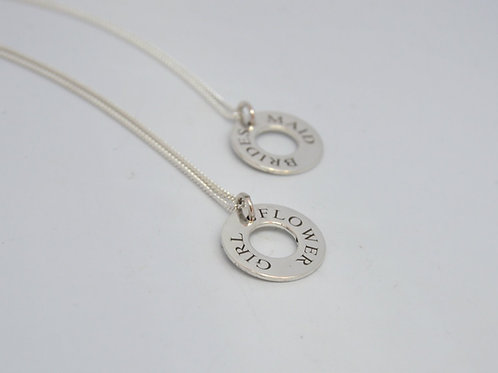 Personalised Wedding necklace