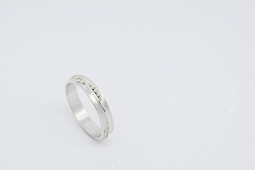 Silver Land Ring