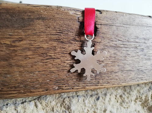 Small Snowflake Decoration