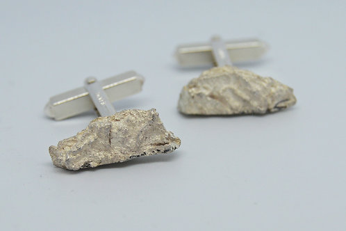 Wood Textured Cufflinks 1
