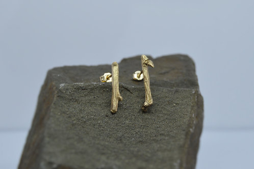 9ct Gold Stick Studs
