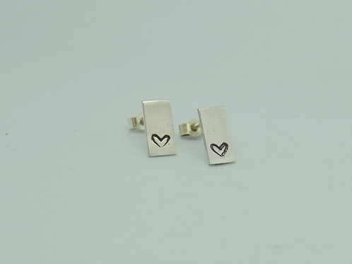 Love heart Pattern Earrings