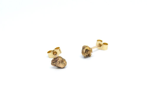 Gold Stone Studs