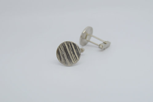 Etched Forest Cufflinks