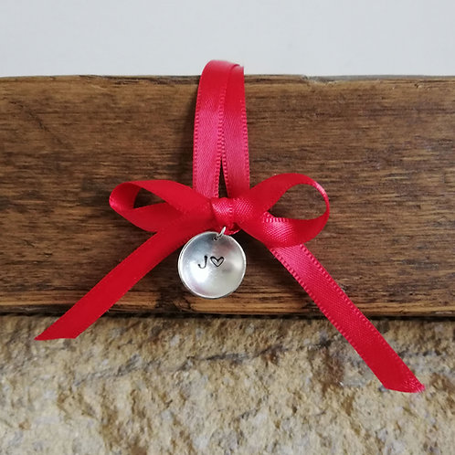 Silver tree decoration/pendant