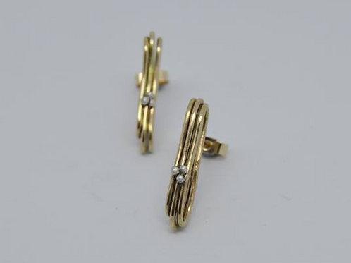 9ct Gold Layered Studs