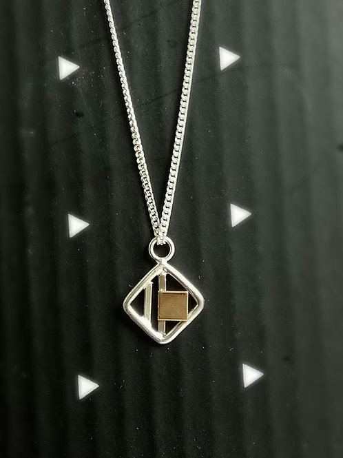 Small Square Panel Pendant