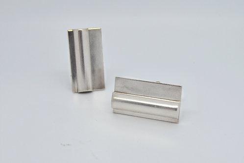 Silver Bar Cufflinks