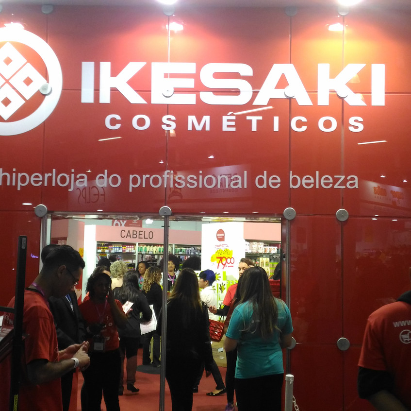 Stand Varejo Ikesaki - Hair Brasil