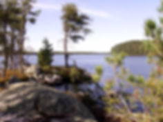 Big Lake at Lodge Of Whispering Pines Ely, MN