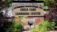 World Around Us Child Care Sign outside White Bear Lake Location