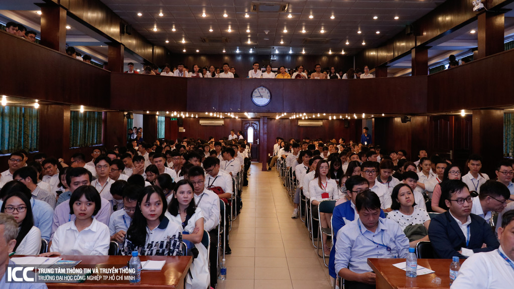 Audience at Ognjen's virtual seminar in HCMC, Vietnam