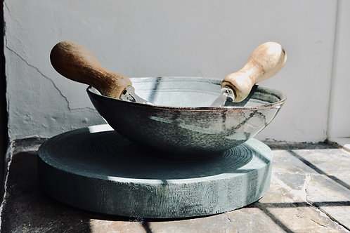 Handmade artisan bowl