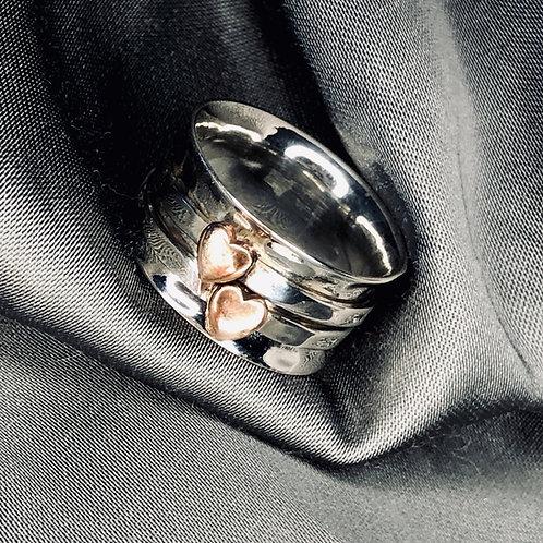 Deep Heart spinner ring