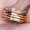 Thumbnail: Wave Spinner Ring