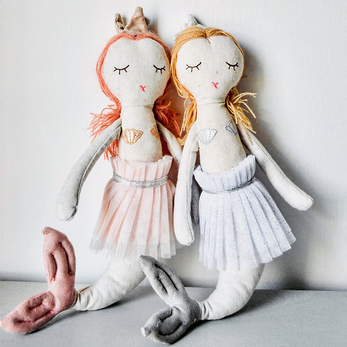 Mermaid Molly and Mermaid Megan