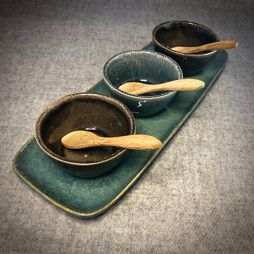 Three Bowl Serving Set
