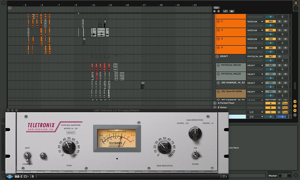 Sound designer interface