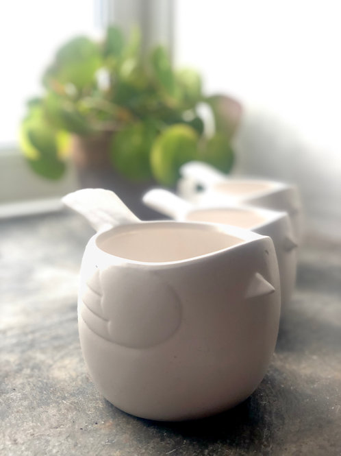 Small bird pot