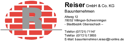 Reiser GmbH & Co. KG Bauunternehmen