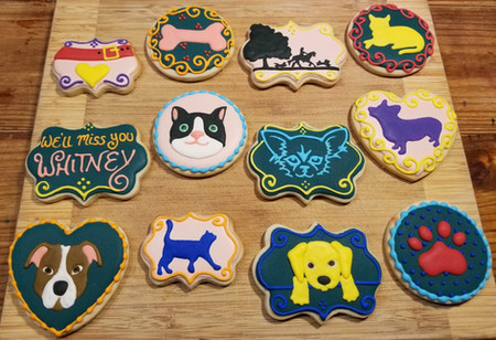 Thinking of you cookies