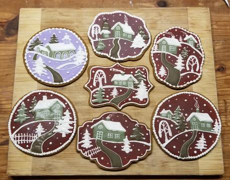Winter cookies