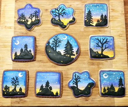 Sunset cookies