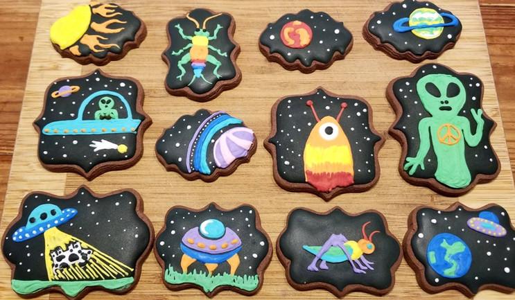 Springtime cookies