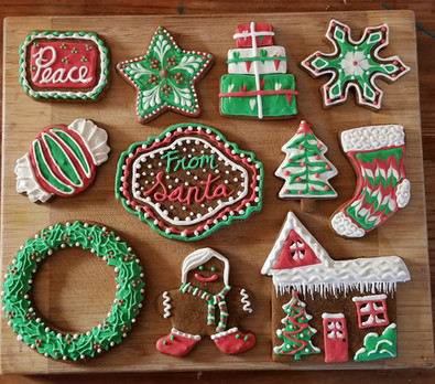 Winter Holiday Cookies