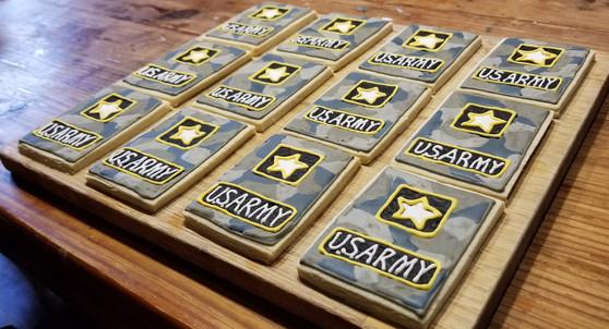 US Army Cookies