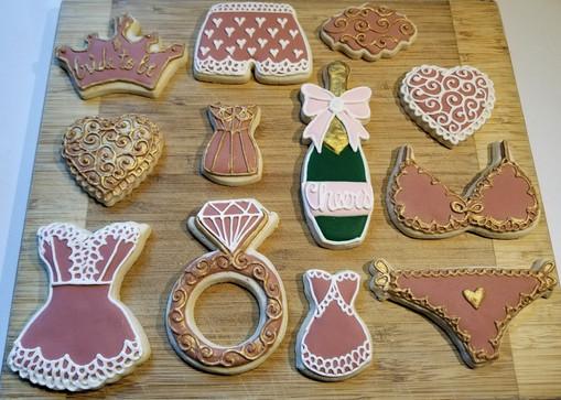 Bride to Be cookies