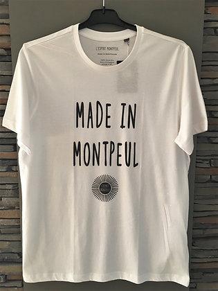 """Tee-shirt """"L'ESPRIT MONTPEUL"""" MADE IN MONTPEUL"""