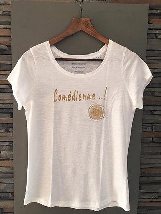 """Tee-shirt """"L'ESPRIT MONTPEUL"""" Comédienne"""
