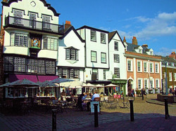 Cathedral Yard Exeter