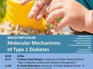 MINISYMPOSIUM Molecular Mechanisms of Type 1 Diabetes